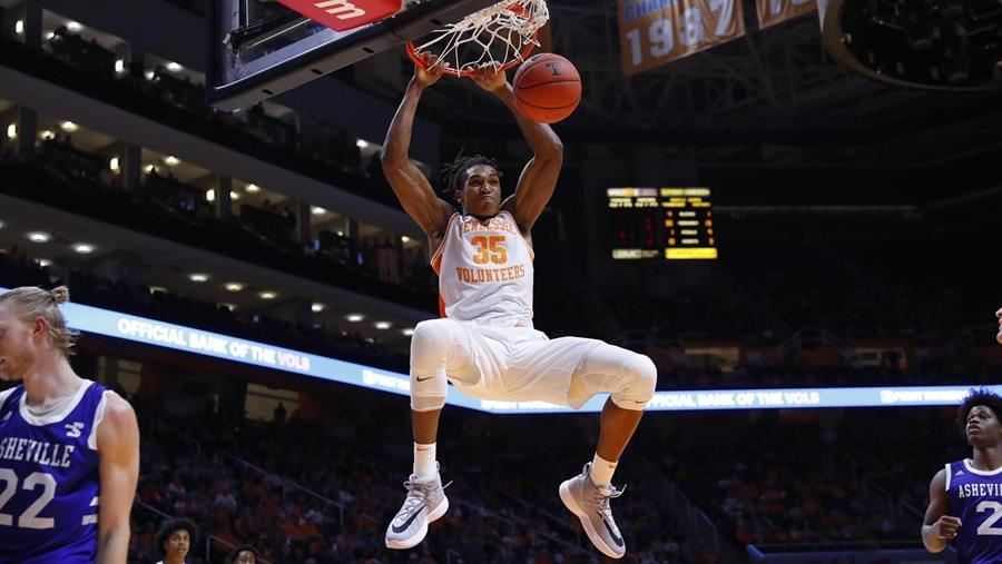 Tennessee Grabs Season-Opening 78-63 Win Over UNC Asheville