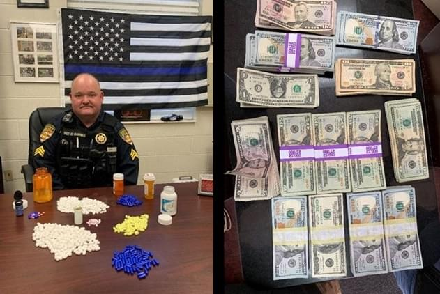 Cash and Drugs Seized in Cocke County Drug Raid