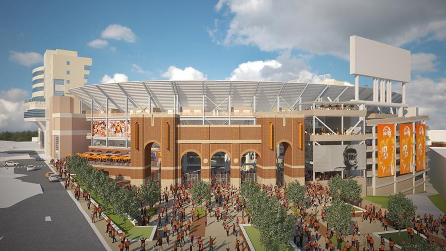 Fulmer Provides Update on Neyland Stadium Renovation Plans