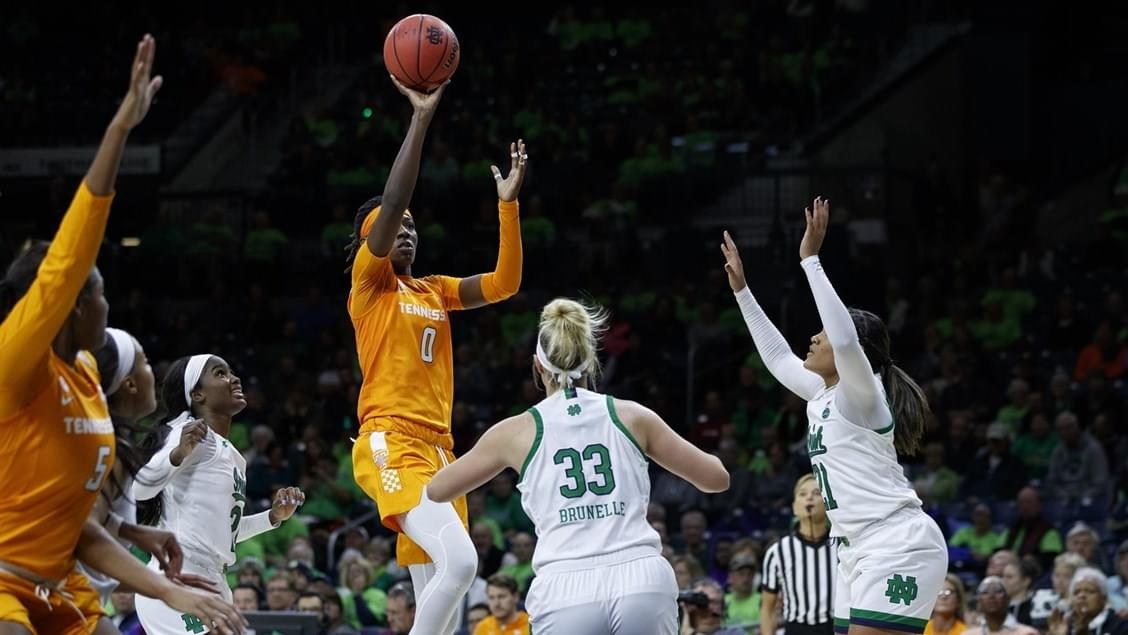 Lady Vol Basketball – UT Takes Road Win Over No. 16/14 Notre Dame