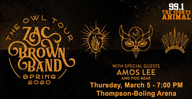 Zac Brown Band at Thompson-Boling Arena