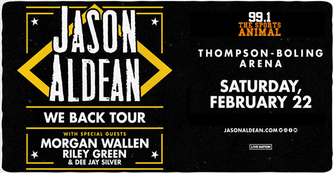Jason Aldean at Thompson-Boling Arena