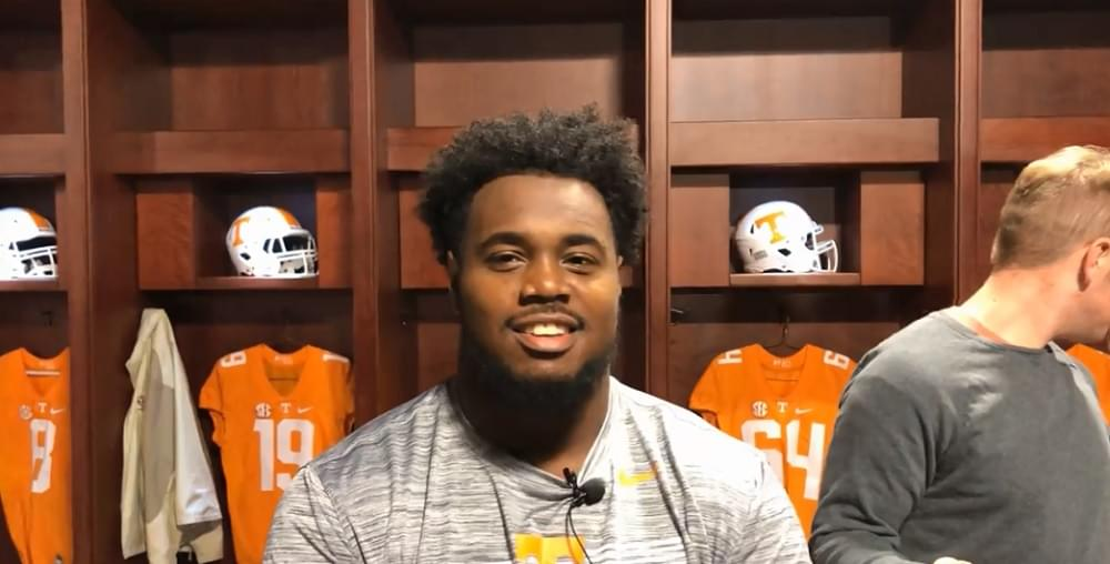 """Video: Kennedy on seeking 6th year """"My plan is to stay. Just seeing where Tennessee is going, it would be great to stay."""""""
