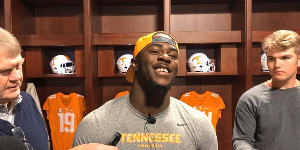 """Video: Taylor """"Senior Day means everything. We're going to be really prepared for this game."""""""