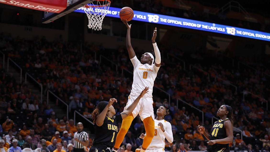 Lady Vols Roll Past Golden Lions, 92-51