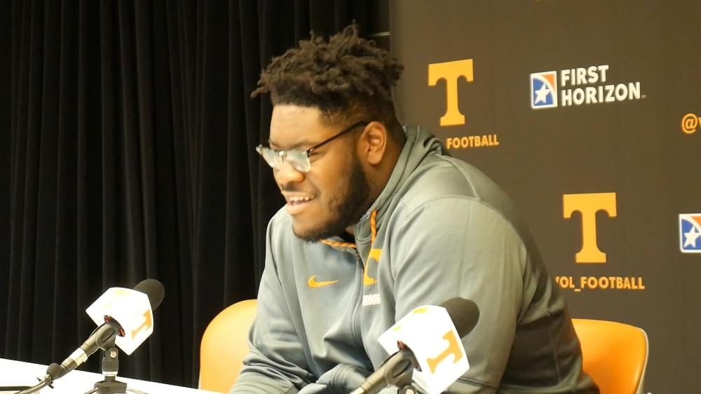 Video: Trey Smith after Tennessee's 28-10 win over Vanderbilt