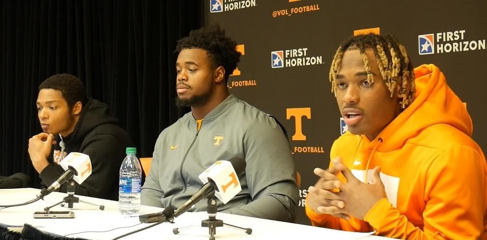 Video: Eric Gray, Nigel Warrior and Brandon Kennedy after win over Vandy