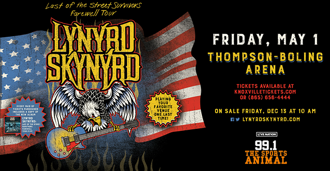 Lynyrd Skynyrd at Thompson-Boling Arena