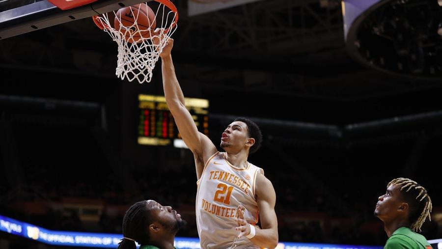 Freshman Trio Pushes Vols to 72-43 Win Over Florida A&M