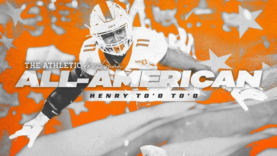 To'o To'o Named to The Athletic's Freshman All-American Team