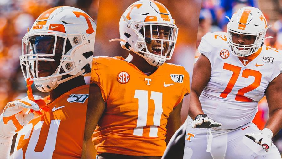 Vols Trio Named Freshman All-SEC Honorees