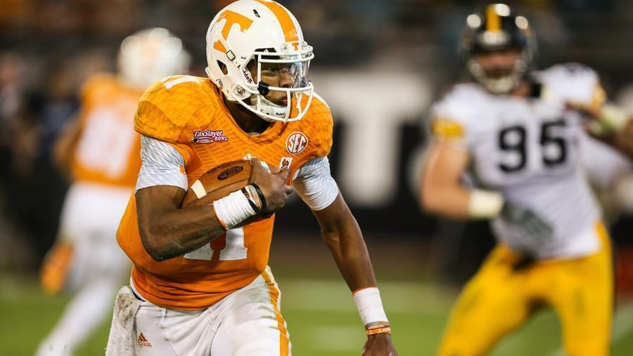 2015 Gator Bowl MVP Joshua Dobbs Excited to Welcome Vols Back to Jacksonville