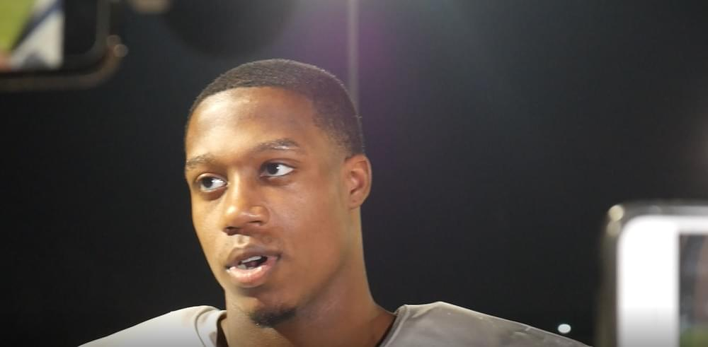 """Video: Palmer on what coaches have said about no Jennings in 1st half """"Nothing really"""""""