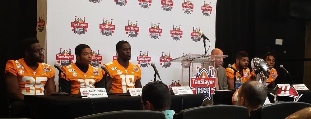 Video: Final Tennessee TaxSlayer Gator Bowl PC