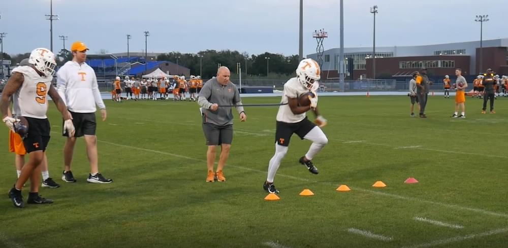 Video: Tennessee Football Bowl Practice in Jacksonville