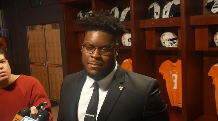 """Video: Smith """"I want to be great. I want to leave a legacy at Tennessee."""""""