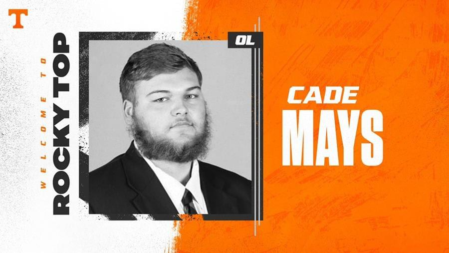 Tennessee Adds Veteran Offensive Lineman Cade Mays