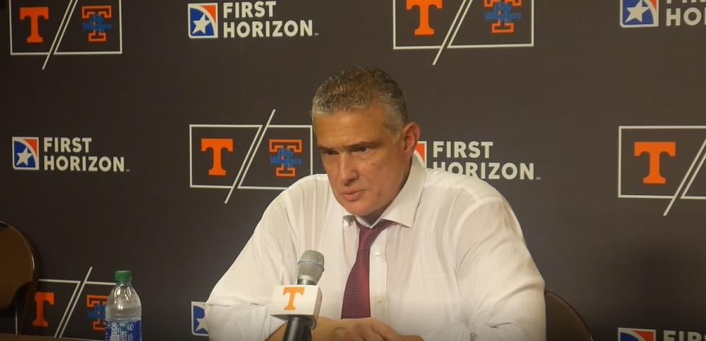 """Video: Frank Martin on Vols """"Today they beat us, we didn't lose it"""""""