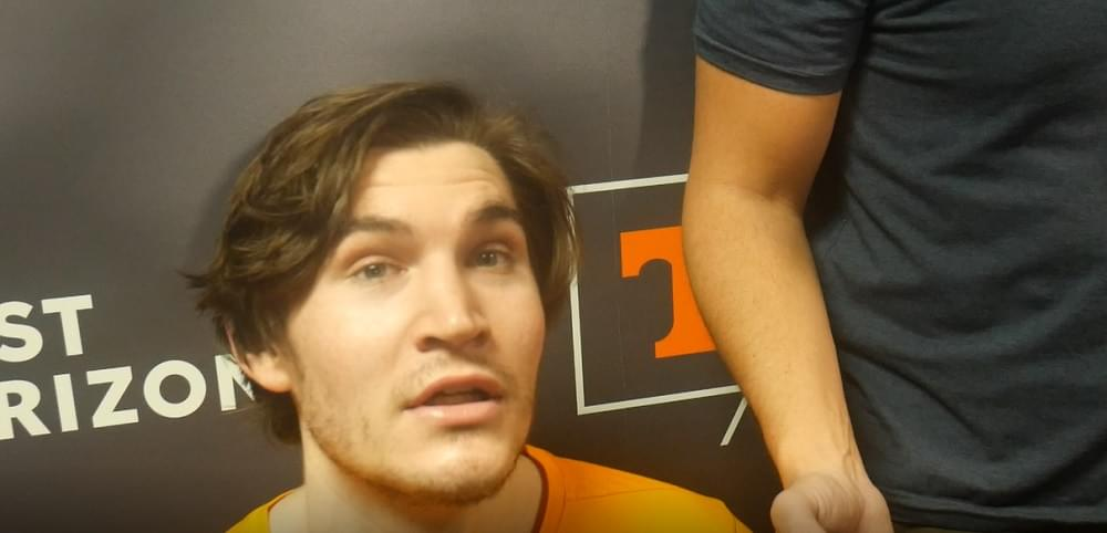 """Video: Fulkerson on playing with Vescovi """"I like the little connection we got going on"""""""
