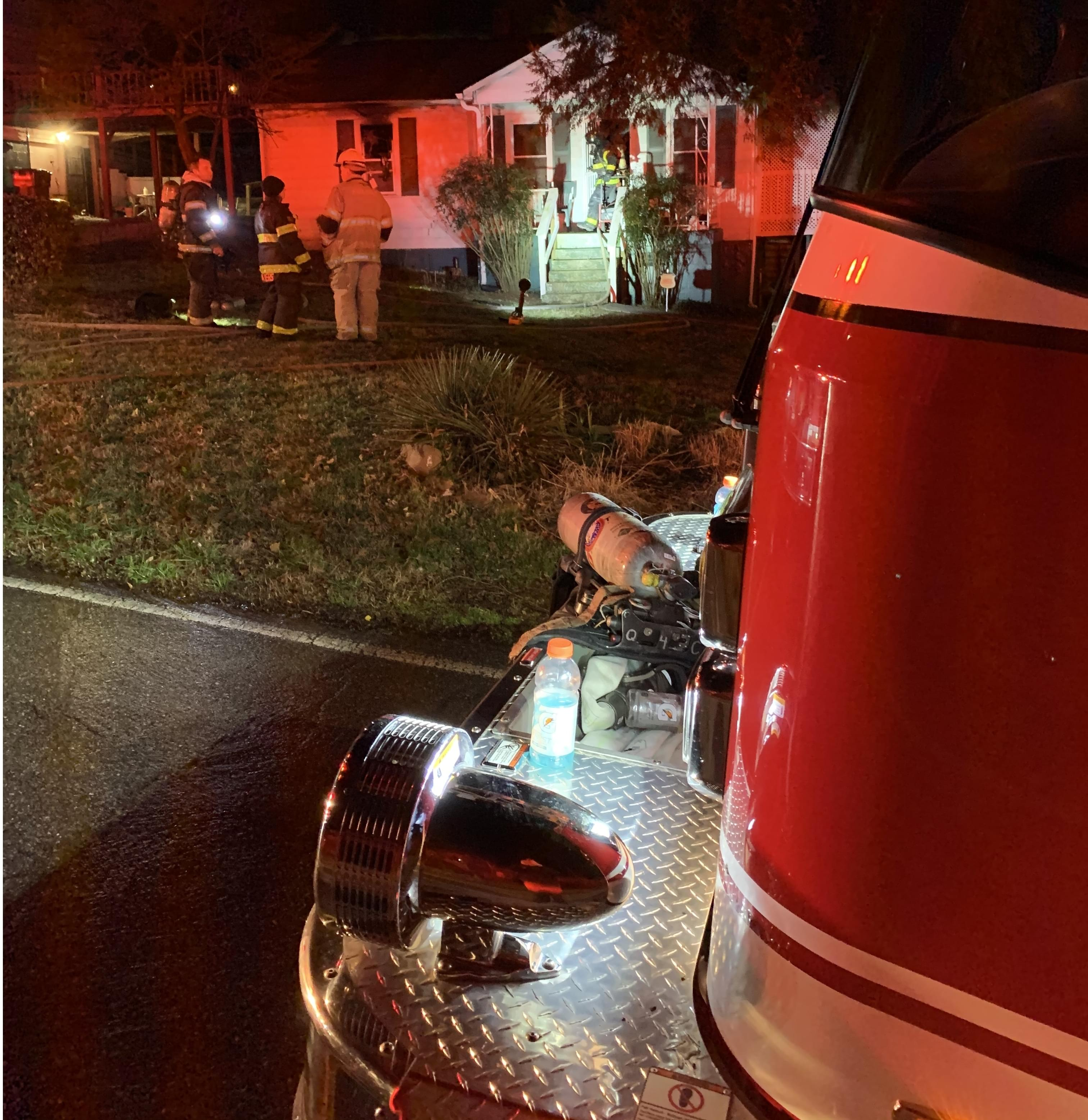 House Fire Overnight in East Knoxville