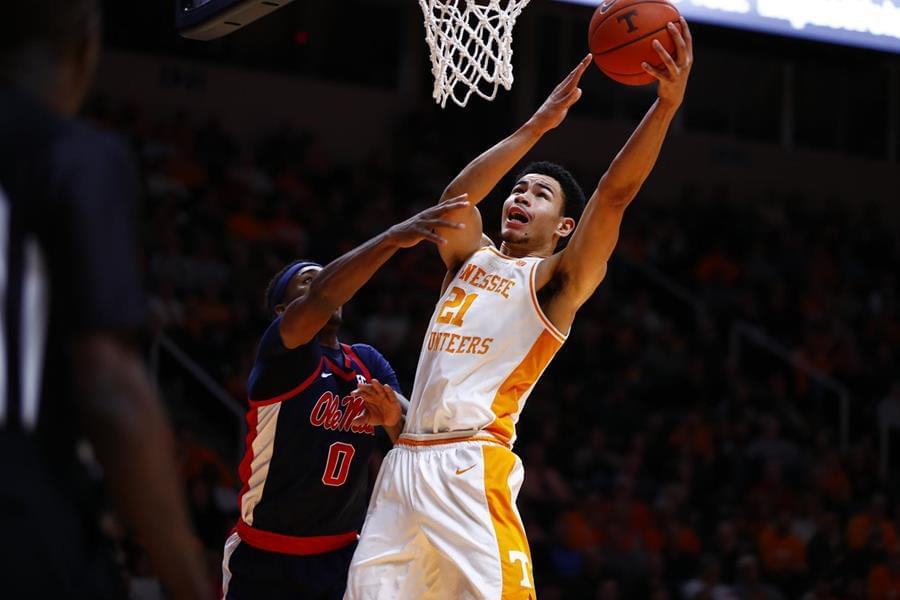 Fulky Catches Fire as Vols Burn Ole Miss, 73-48