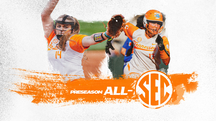 Tennessee Duo Named to the Preseason All-SEC Team
