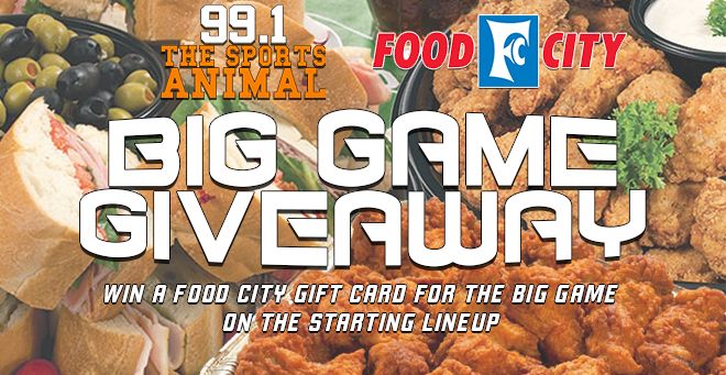 Food City Big Game Giveaway