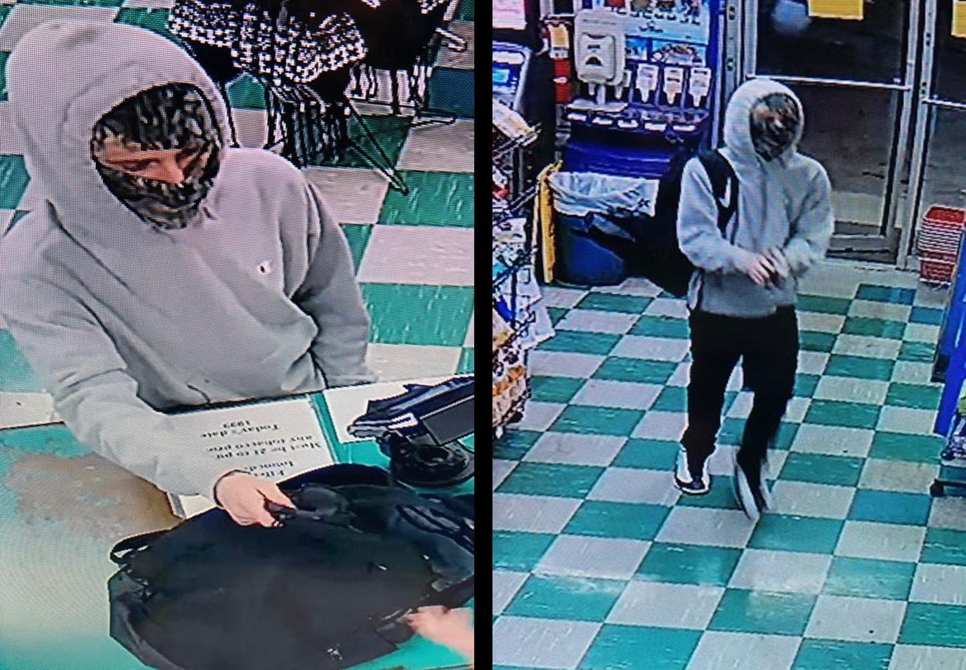 Kenjo Robbery Suspect