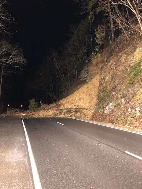 Rockslide Closes The Spur in GSMNP