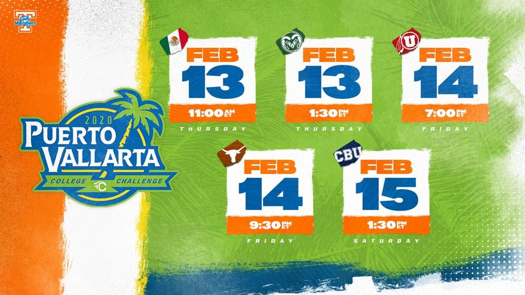 Softball Preview: No. 12 UT at Puerto Vallarta Collegiate Challenge