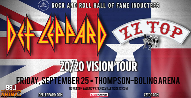 Def Leppard & ZZ Top at Thompson-Boling Arena