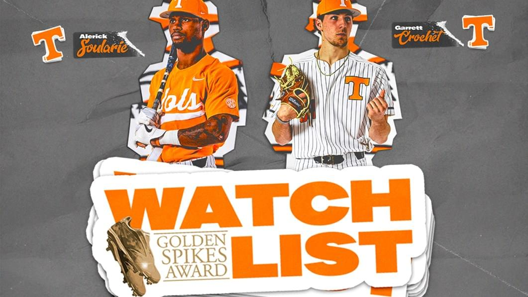 Crochet & Soularie Named to Golden Spikes Award Preseason Watch List