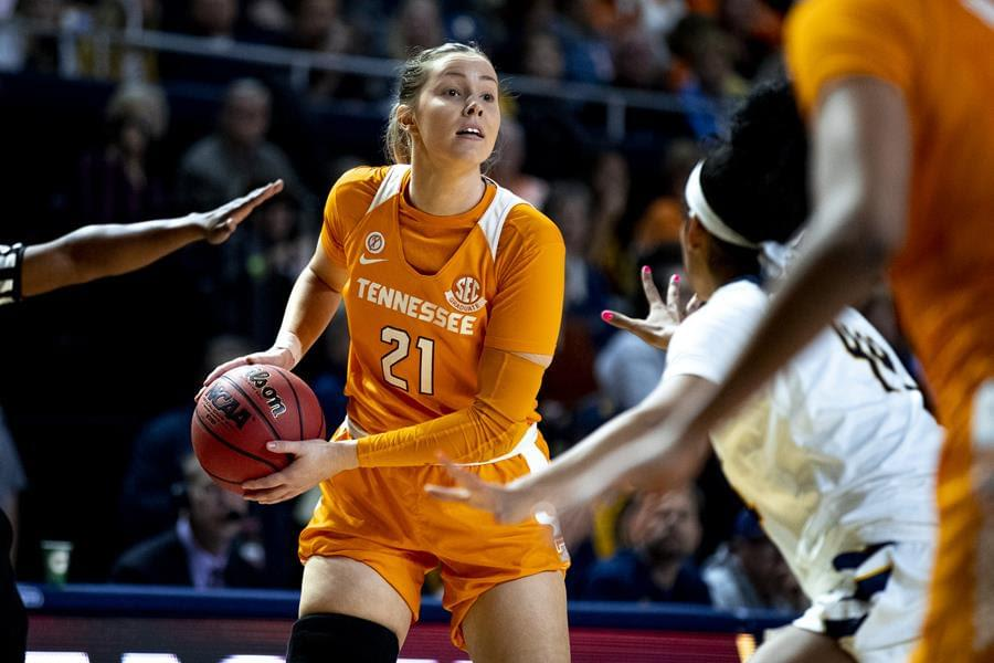 #25 Lady Vols stumble at LSU 75-65
