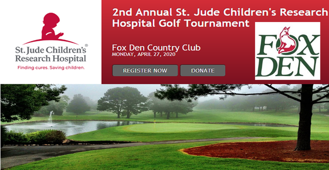 2nd Annual St. Jude Children's Research Hospital Golf Tournament