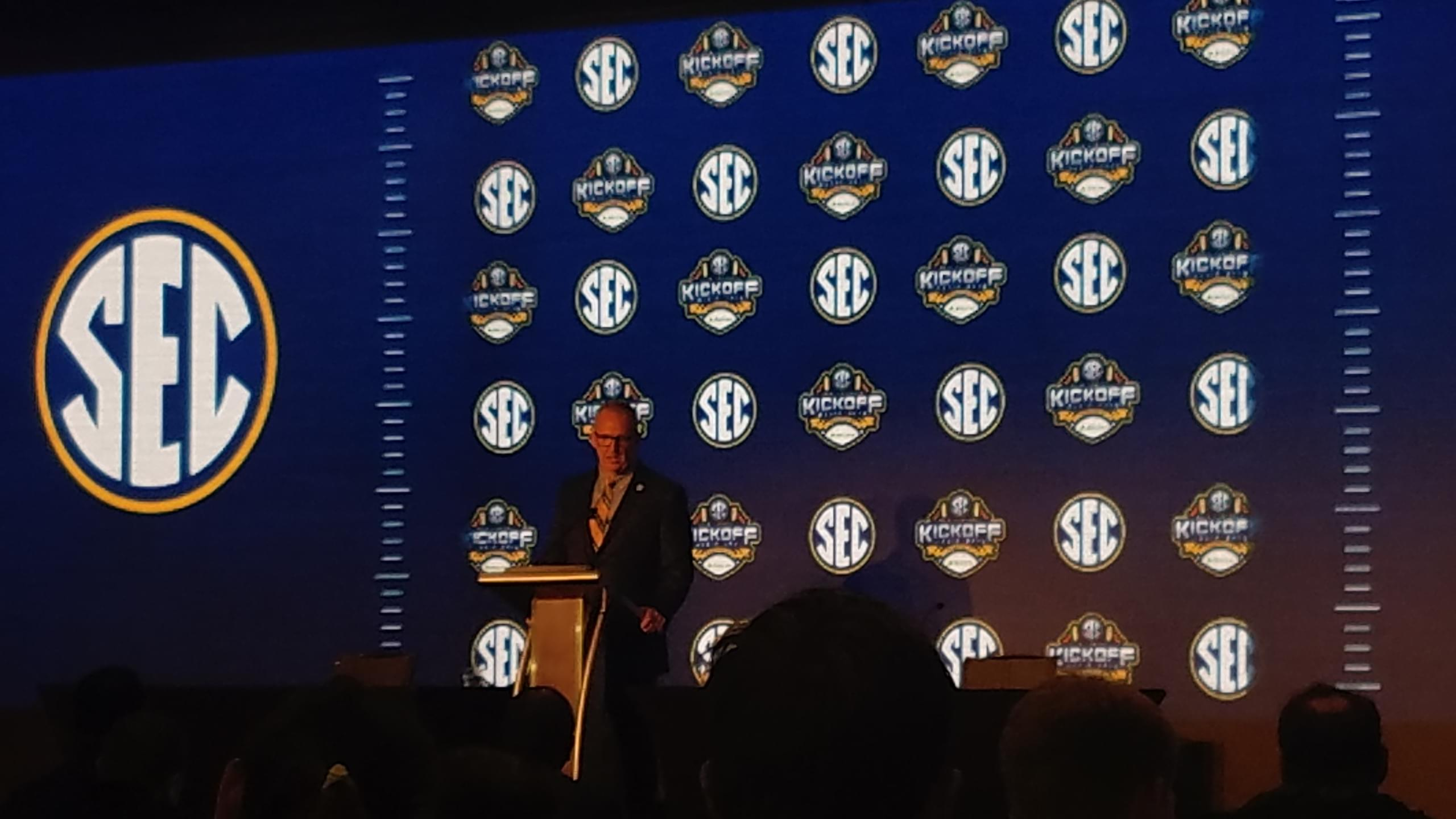 SEC Commissioner Greg Sankey Media Teleconference Transcript March 18, 2020