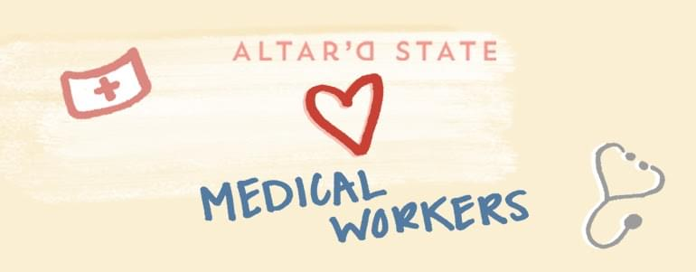 Altar'd State Giving Away 500 Dresses to Medical Workers