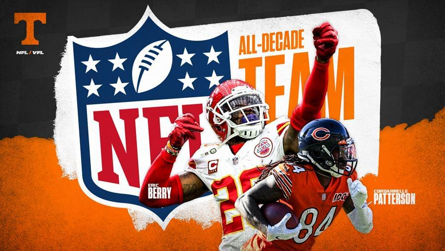 VFLs Eric Berry, Cordarrelle Patterson Named to NFL All-Decade Team