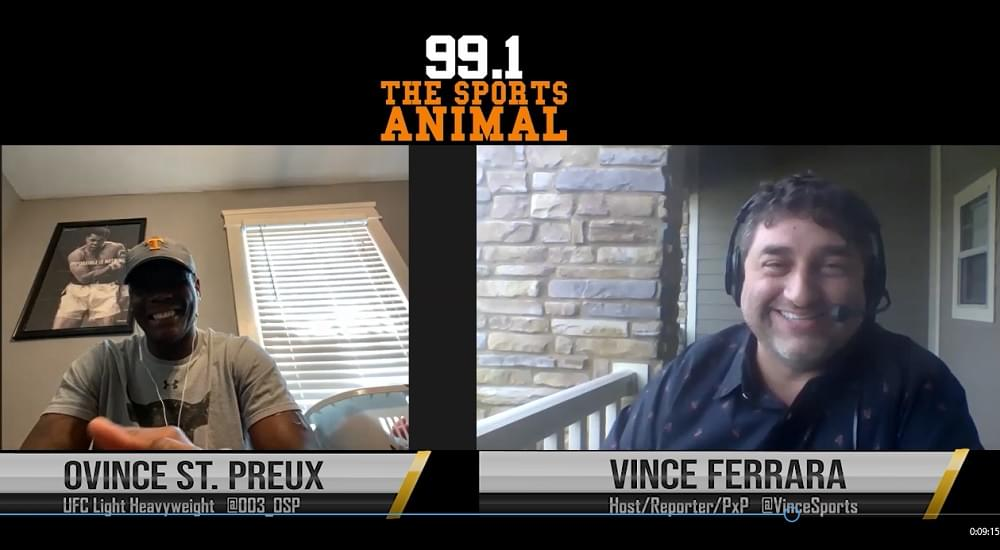 Vince's Video View: This week's In The Cage MMA Radio w/VFL Ovince St. Preux