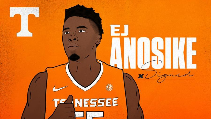 Vols Add Experience in Grad Transfer EJ Anosike