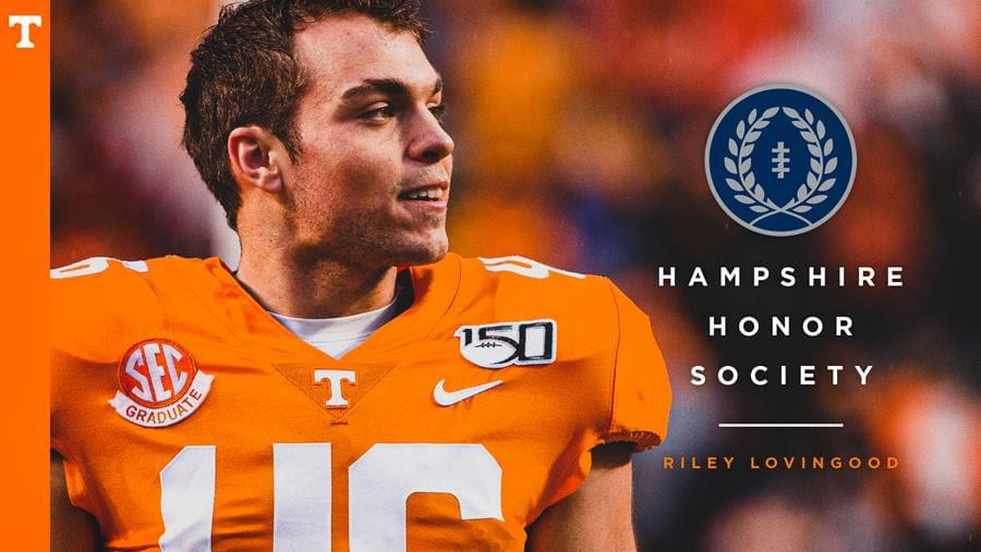 Lovingood Named to NFF Hampshire Honor Society