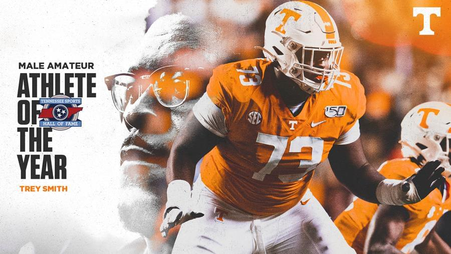 Trey Smith Tabbed Tennessee Sports Hall of fame C-Amateur Athlete of the Year