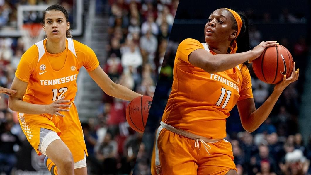 Lady Vols' Burrell, Kushkituah Enhance Leadership Skills at AIA Virtual Academy