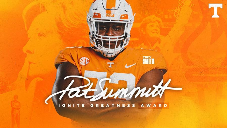 Trey Smith To Receive Pat Summitt Ignite Greatness Award