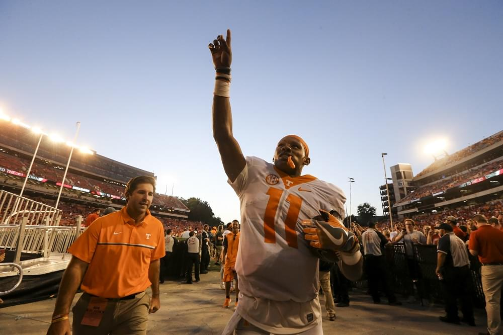 QB Coach Quincy Avery discusses Josh Dobbs at Tennessee, working with client Deshaun Watson