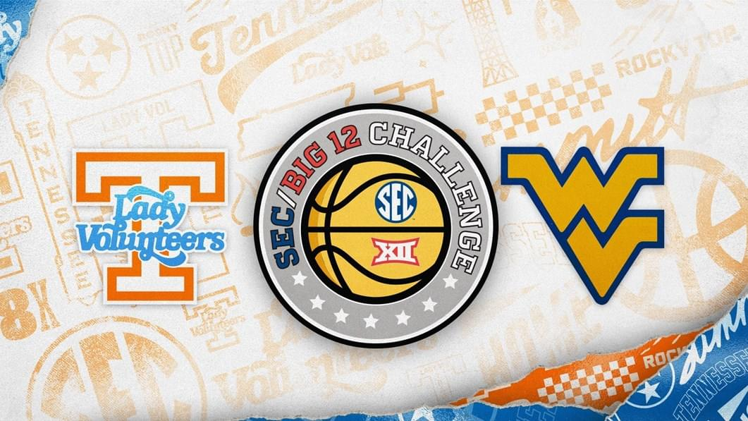 Lady Vols Set To Play at West Virginia in 2020 SEC/Big 12 Challenge