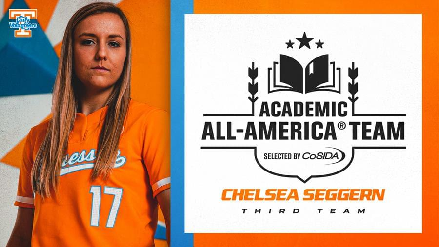 Seggern Named CoSIDA Academic All-American