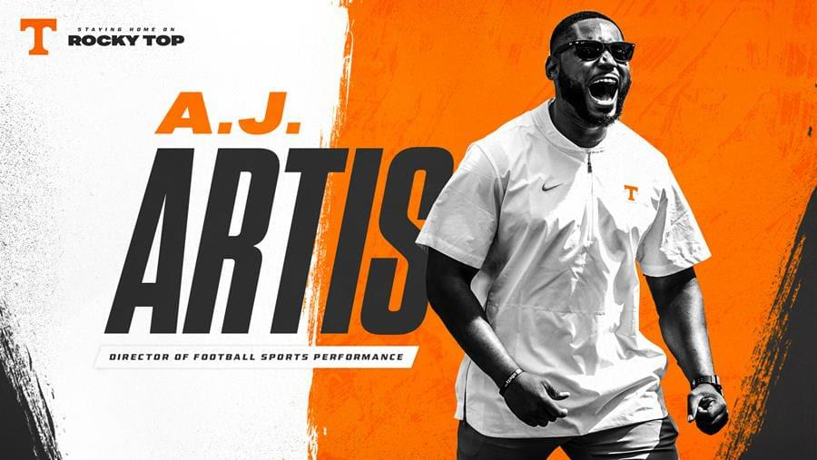 A.J. Artis Named Director of Football Sports Performance