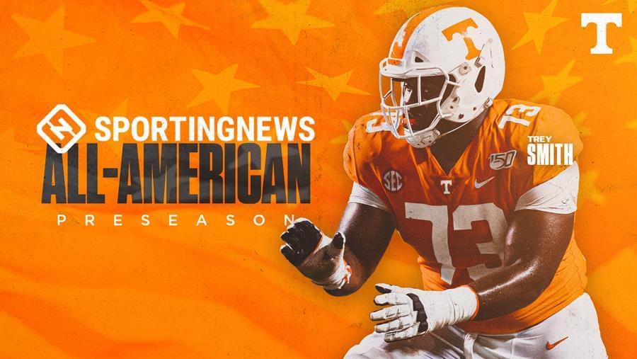 Trey Smith Named to Sporting News Preseason All-America First Team