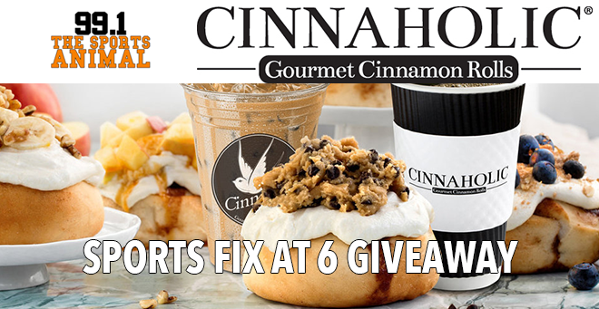 Cinnaholic Sports Fix at 6 Giveaway