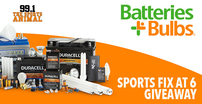 Batteries Plus Bulbs Sports Fix Giveaway